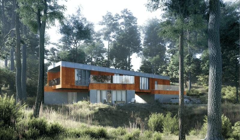 Projekty domów i willi jednorodzinnych - architekt Poznań